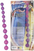 Jumbo Jelly Thai Beads Carded lavender