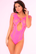 Some body to love bodysuit pink