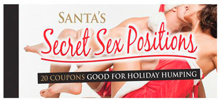 Afbeelding 1 van Santas secret sex positions coupons